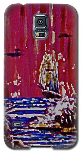 Disaster On The Reef Galaxy S5 Case