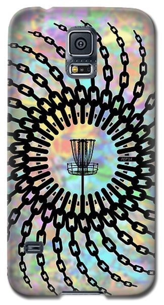 Disc Golf Basket Chains Galaxy S5 Case