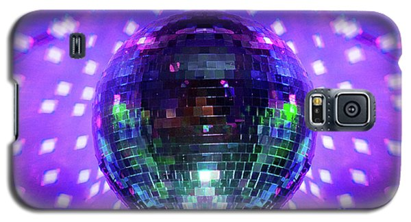 Disco Ball Purple Galaxy S5 Case