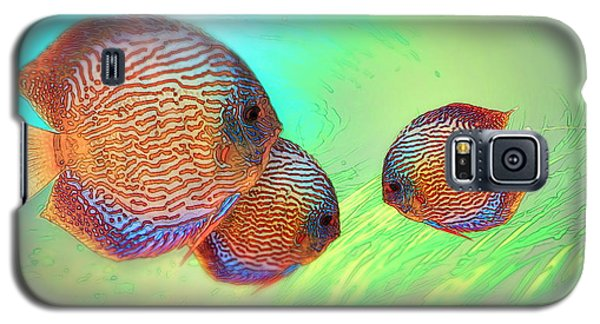 Discus In Eel Grass Galaxy S5 Case
