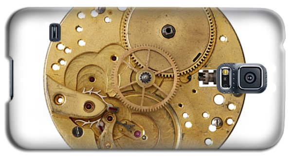 Galaxy S5 Case featuring the photograph Dismantled Clockwork Mechanism by Michal Boubin
