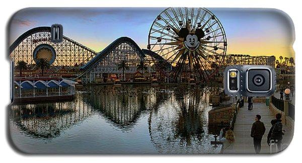Disney California Adventure Panorama Galaxy S5 Case