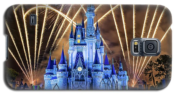 Galaxy S5 Case featuring the photograph Disney World by Anna Rumiantseva