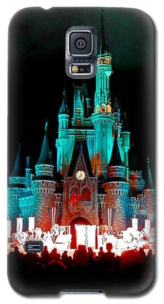 Disney World Night Galaxy S5 Case by John Haldane