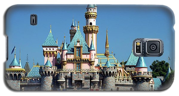 Galaxy S5 Case featuring the photograph Disneyland Castle by Mariola Bitner