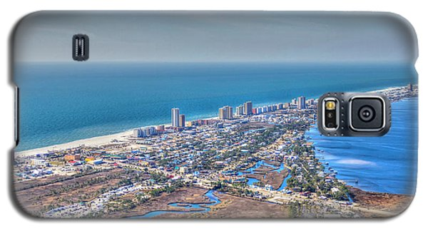 Distant Aerial View Of Gulf Shores Galaxy S5 Case