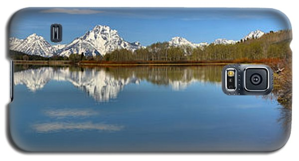 Distant Mt. Moran Reflections Galaxy S5 Case by Adam Jewell