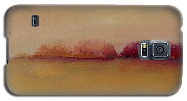 Distant Red Trees Galaxy S5 Case