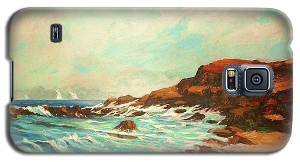 Distant Sails Of The Cove Galaxy S5 Case