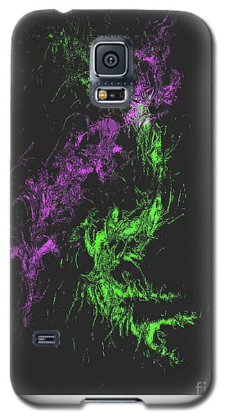 Galaxy S5 Case featuring the digital art Distortion by John Krakora