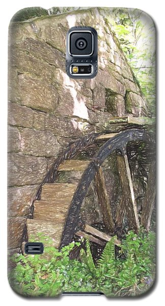 Disused Water Wheel Galaxy S5 Case by Jayne Wilson