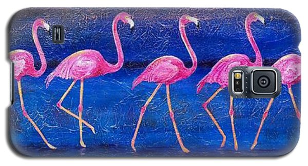 Galaxy S5 Case featuring the painting Diva Madness by Susan DeLain