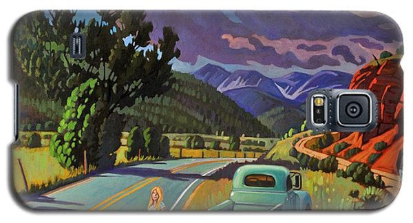 Galaxy S5 Case featuring the painting Divergent Paths by Art West