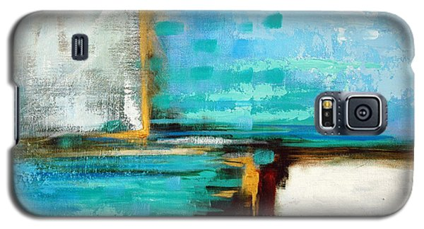 Galaxy S5 Case featuring the painting Divided Loyalties by Suzanne McKee