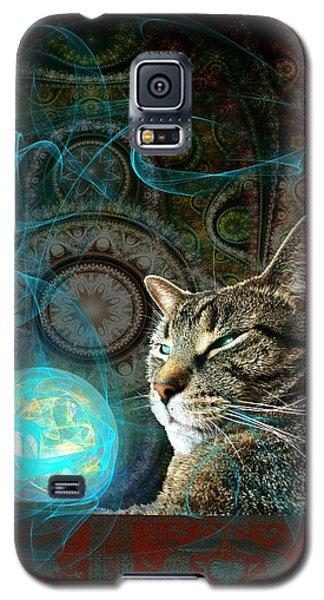 Galaxy S5 Case featuring the digital art Divination by Anastasiya Malakhova