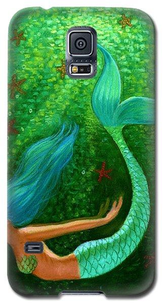 Diving Mermaid Fantasy Art Galaxy S5 Case by Sue Halstenberg