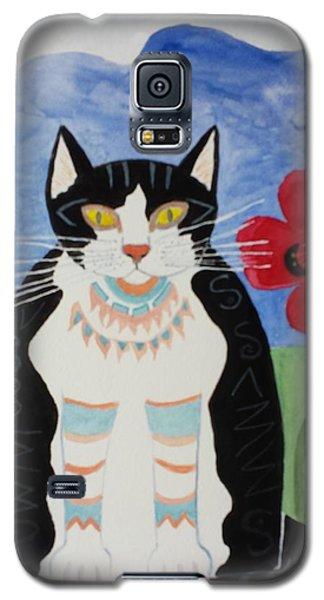 Diwali Tux Cat Galaxy S5 Case