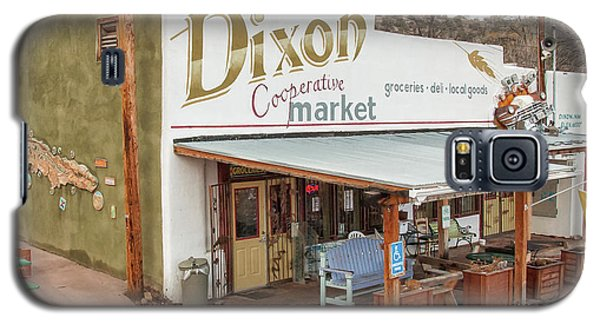 Galaxy S5 Case featuring the photograph Dixon Market, New Mexico by Britt Runyon