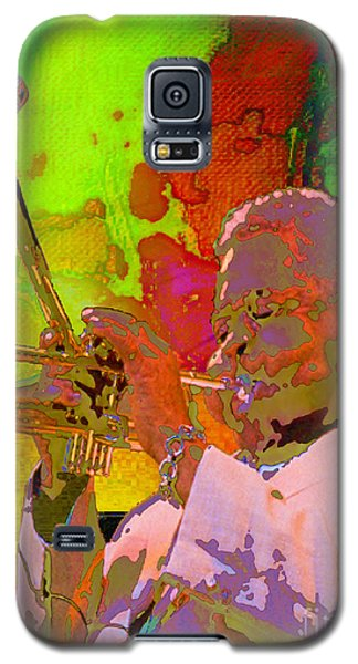 Galaxy S5 Case featuring the painting Dizzy by Mojo Mendiola