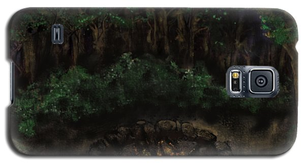 Dancing Naked In The Forest Back Cover Galaxy S5 Case