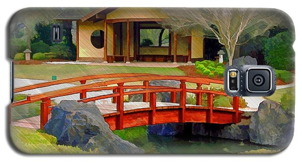 Do-00006 Cypress Bridge And Tea House Galaxy S5 Case