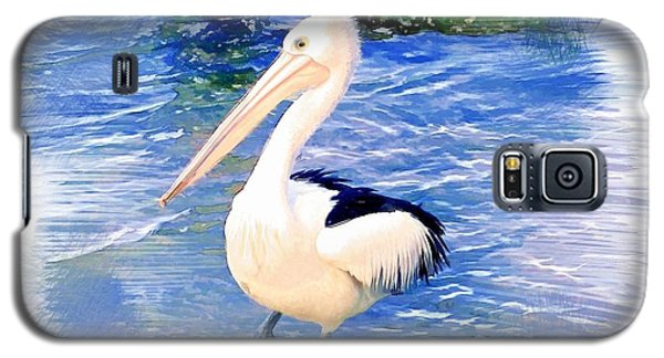 Galaxy S5 Case featuring the photograph Do-00088 Pelican by Digital Oil
