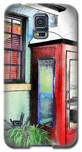 Do-00091 Telephone Booth In Morpeth Galaxy S5 Case