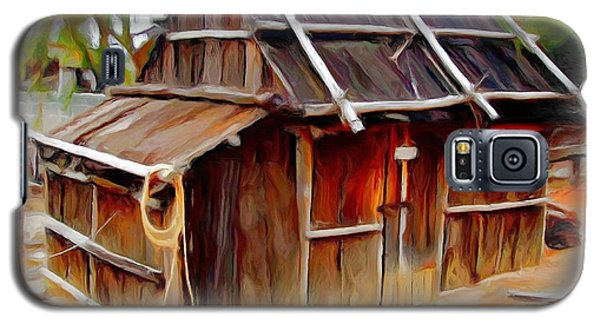 Galaxy S5 Case featuring the photograph Do-00129 Old Cottage by Digital Oil