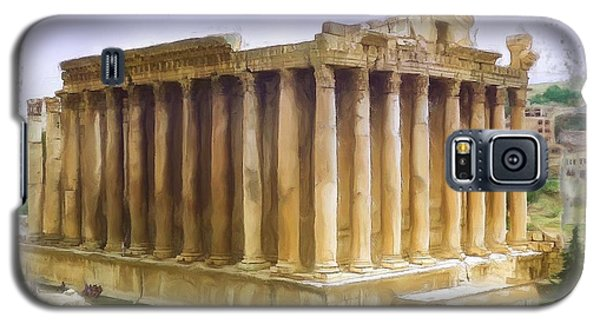 Do-00312 Temple Of Bacchus In Baalbeck Galaxy S5 Case