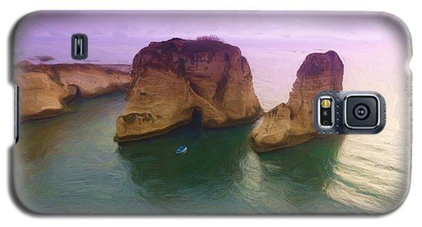 Do-00404 Grotte Aux Pigeons Galaxy S5 Case by Digital Oil