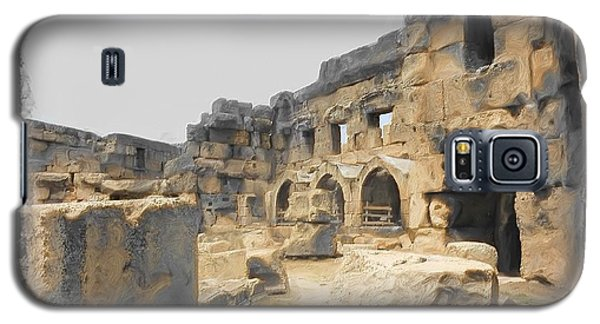Galaxy S5 Case featuring the photograph Do-00452 Inside The Ruins by Digital Oil