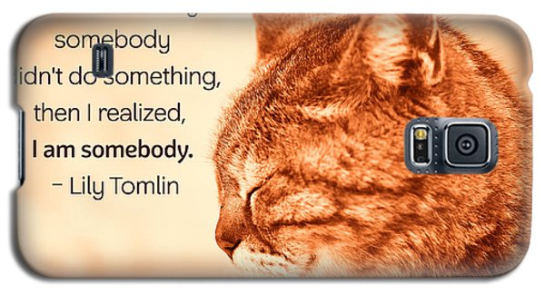 Do Something - Orange Cat Galaxy S5 Case