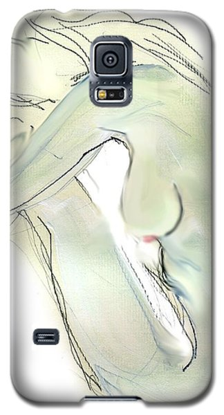 Do You Think - Female Nude Galaxy S5 Case by Carolyn Weltman