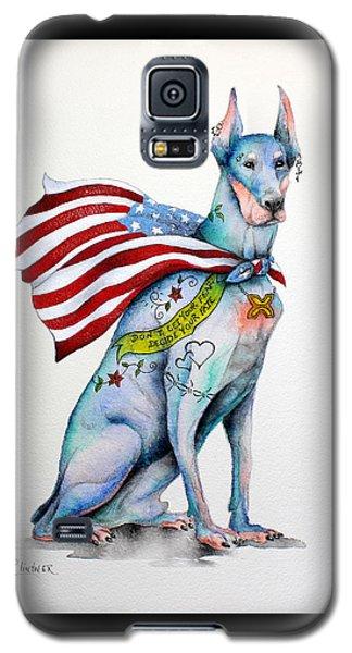 Doberman Napolean Galaxy S5 Case