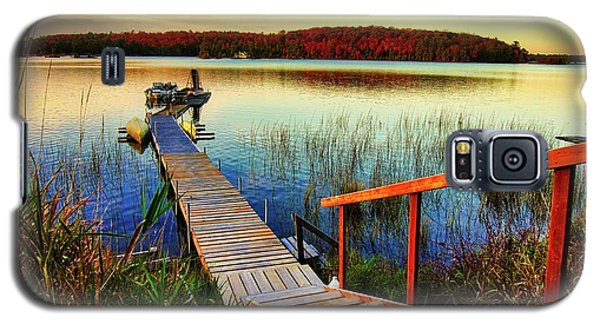 Dock At Gawas Bay Galaxy S5 Case