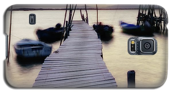 Dock At Sunset Galaxy S5 Case by Marion McCristall