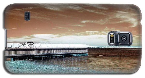 Dock Lines Infrared Galaxy S5 Case by John Rizzuto