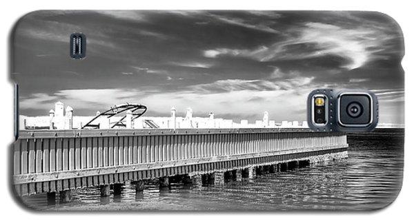 Dock Lines Galaxy S5 Case by John Rizzuto