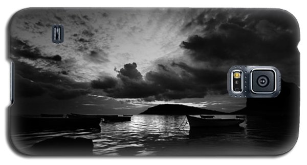 Docked At Dusk Galaxy S5 Case