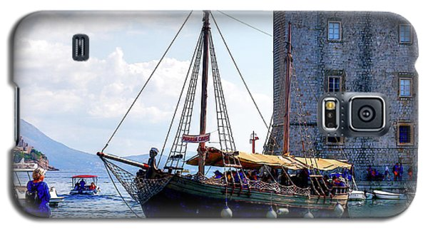 Docking In Dubrovnik Harbour Galaxy S5 Case