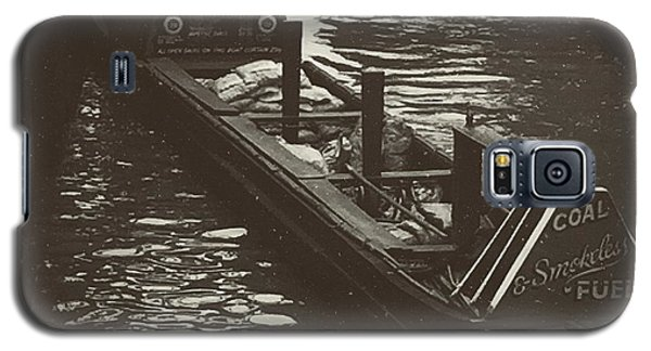 School Galaxy S5 Case - Dockland Daytime  by Trystan Oldfield