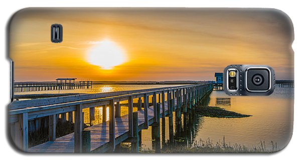 Docks At Sunset I Galaxy S5 Case