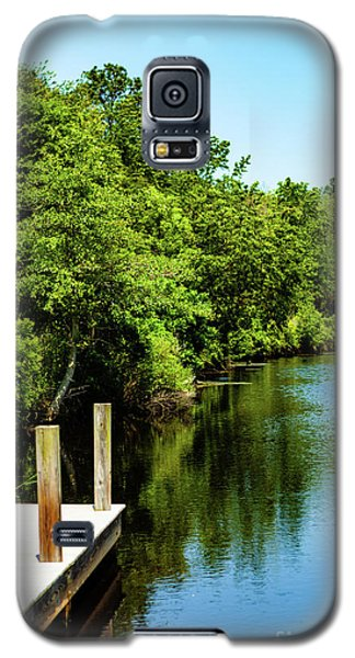 Dockside In Delaware Galaxy S5 Case