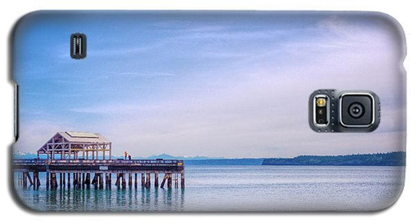 Galaxy S5 Case featuring the photograph Dockside by Spencer McDonald