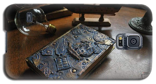 Doctor Who Steampunk Journal  Galaxy S5 Case