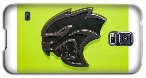 Dodge Challenger Srt Hellcat Emblem Galaxy S5 Case