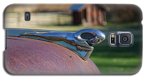Galaxy S5 Case featuring the photograph Dodge Emblem by Ely Arsha