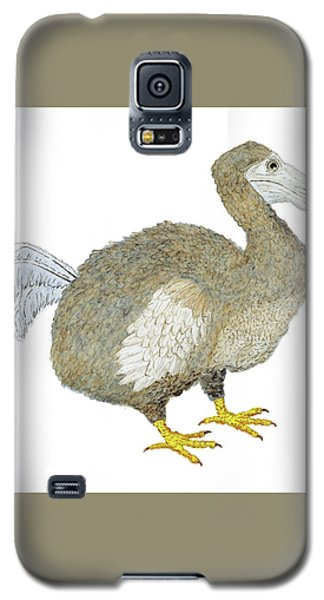 Galaxy S5 Case featuring the painting Dodo Bird Protrait by Thom Glace