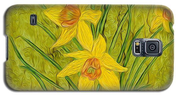 Daffodils Too Galaxy S5 Case