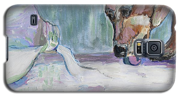 Dog And Spilled Milk Galaxy S5 Case